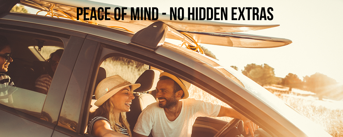 Peace of Mind No Hidden Extras